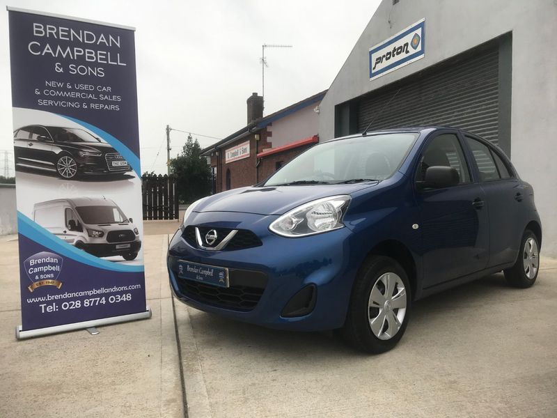 View NISSAN MICRA Visia SPECIAL EDITION 1.2 VISIA LIMITED EDITION 5DR